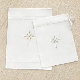 мешочек для крестильной рубашки и набора Светик, Берегиня.