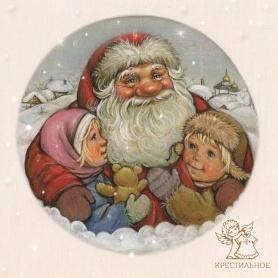 открытка на новый год или рождество