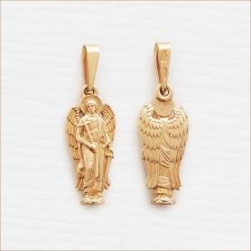 ангел серебряный с позолотой арт.11200