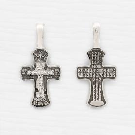 cеребряный крестик арт.03332