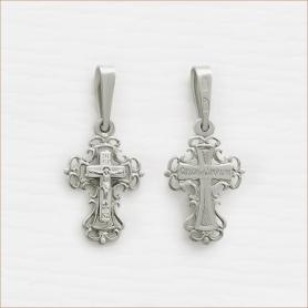 Крестик серебряный детский арт.10013