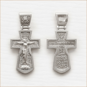 массивный серебряный мужской крест арт.11948