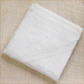 полотенце с капюшоном именное