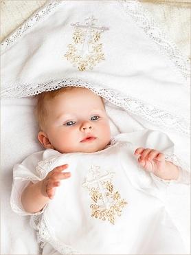 красивый крестильный набор