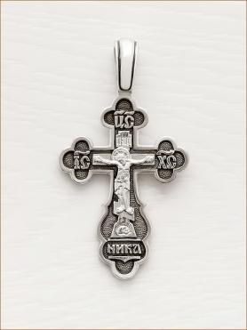 cеребряный крестик арт.03178