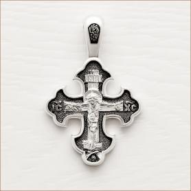 Серебряный крестик арт.03502