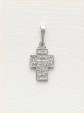 крестик серебряный арт.10012