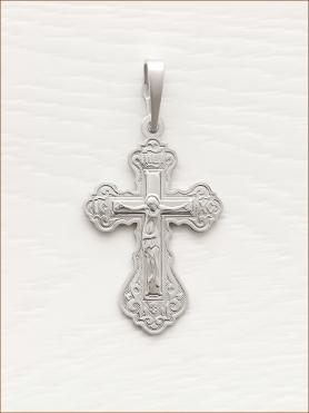 крестик серебряный арт.10240