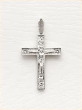 крестик серебряный арт.10286