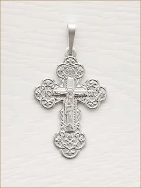 Крестик серебряный арт.10689
