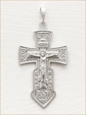 крестик серебряный арт.10896