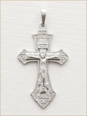 крестик серебряный арт.10899