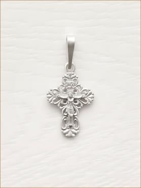 крестик серебряный арт.11010