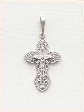 крестик серебряный арт.11167