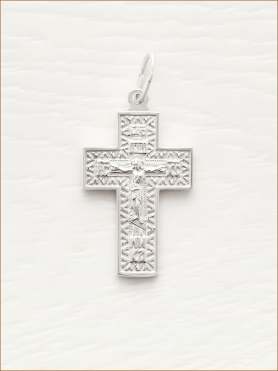 серебряный крестик арт.А35200
