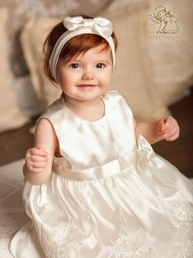 Платье Принцесса молочное