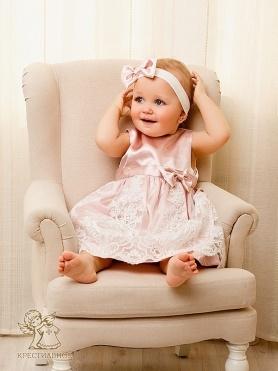 Платье Принцесса розовое