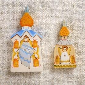 деревянный мини-пазл Ангел