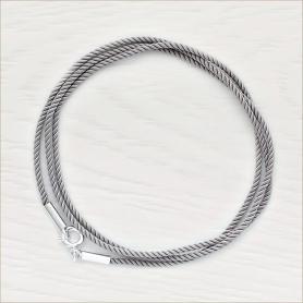 крученый шелковый шнурок для детского крестильного крестика