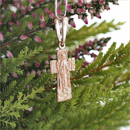 золотой ангел хранитель завод Аквамарин арт.11954