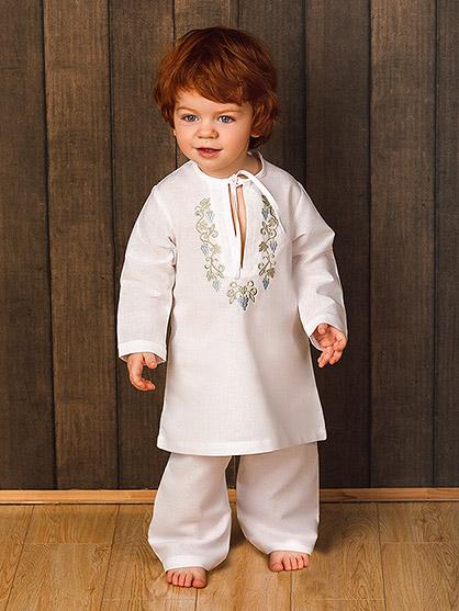 костюм для крещения, модель Владимир