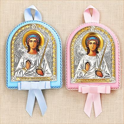 """Икона детская """"Ангел-хранитель"""" - фото товара"""