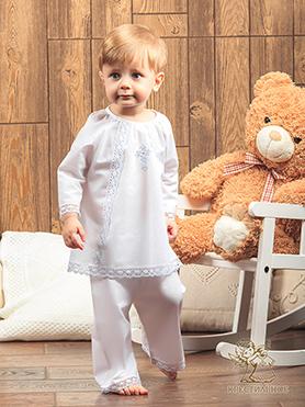 костюмчик для крещения, модель Степан