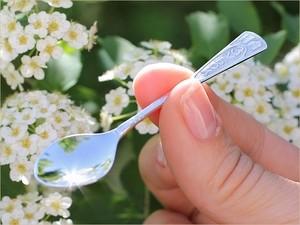 Серебряная ложечка на зубок