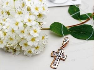 Крестик в подарок от крестного
