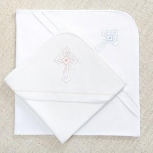 фланелевые пеленки к крестильным рубашкам Перышко