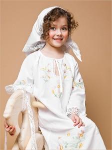 крестильная сорочка Василиса на 5 лет