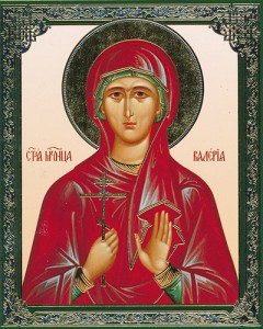 икона Святой Валерии мученицы Палестинской