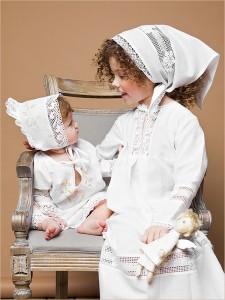 крестильное платье Пелагея для девочки 5 лет