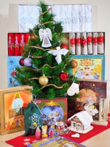 новогодние и Рождественские подарки от мастерской Крестильное