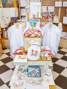 подарки на Пасху - швейные изделия с красивой машинной вышивкой