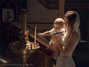Молитва для крестных при крещении