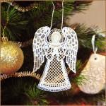 Рождественский ангел на елку