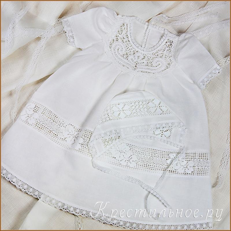 Как сшить платье для крещения