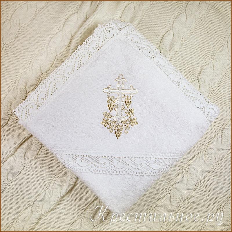 пеленка крестильная махровая