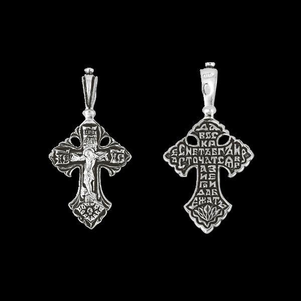 Серебряный крест, арт.03038