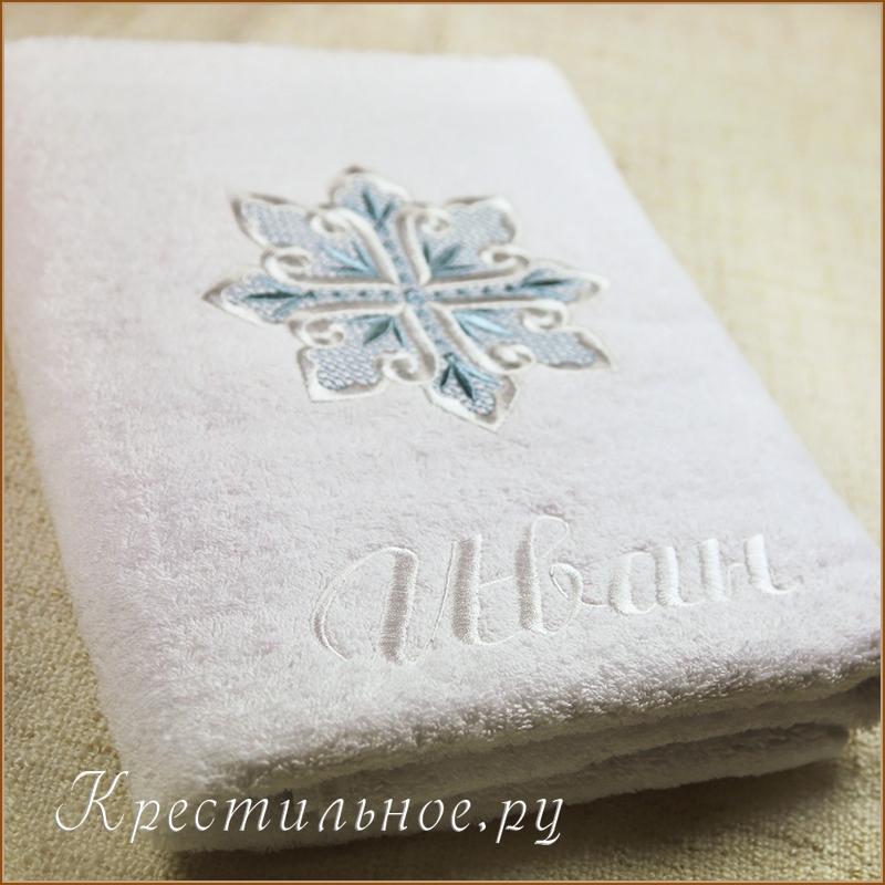 Вышивка на полотенце своими руками