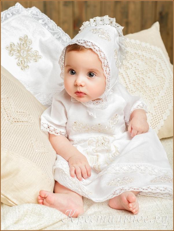 """Шикарное крестильное платье, модель """"София"""""""