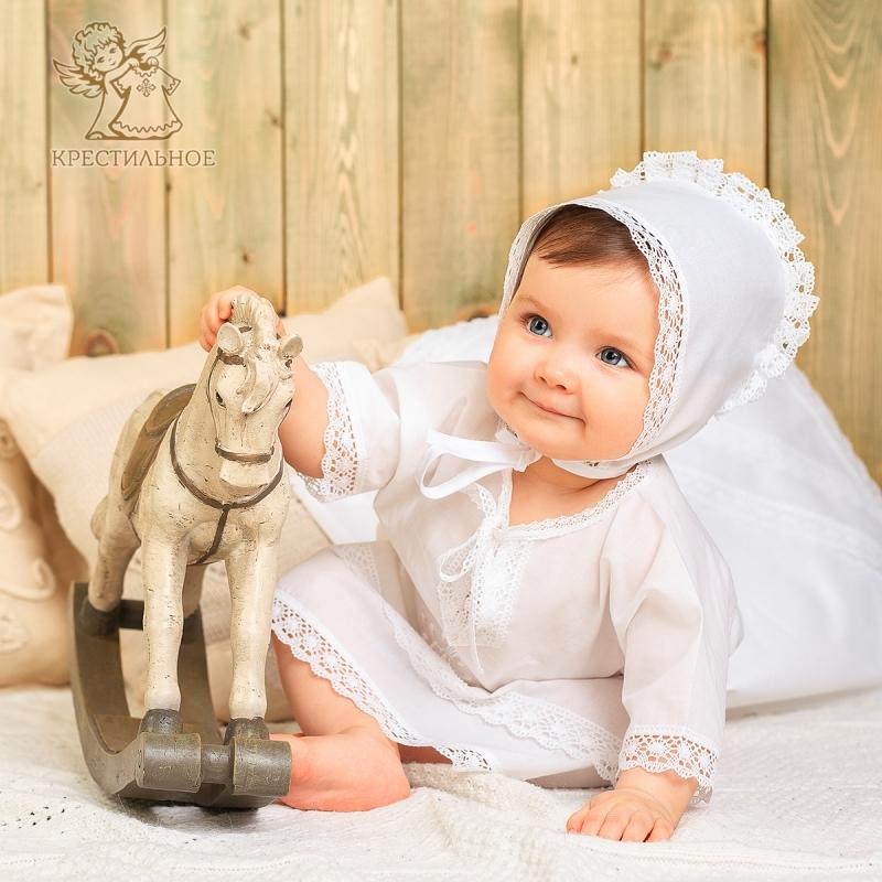набор одежды на крещение ребенка