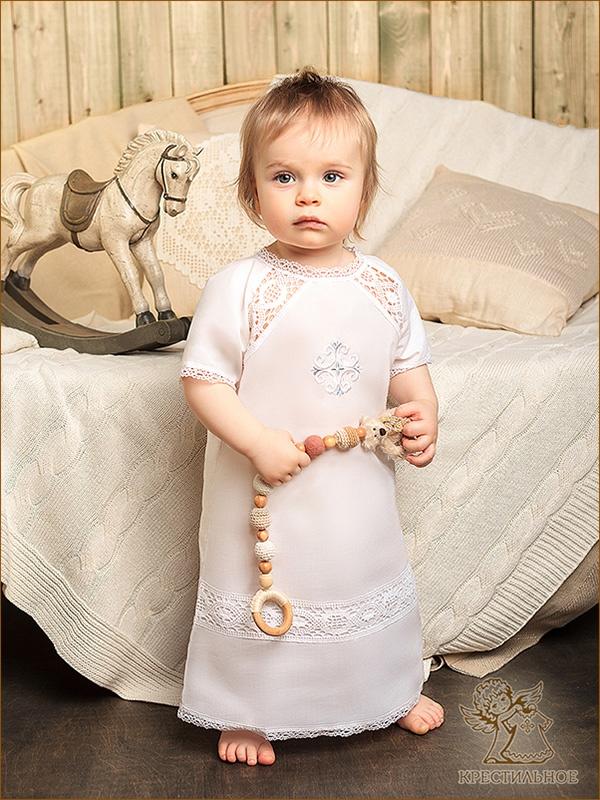крестильная рубашка модель Василий
