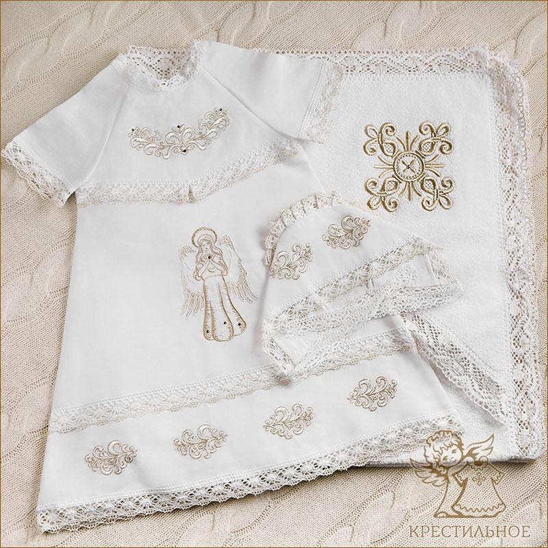 Купить крестильное полотенце для девочки