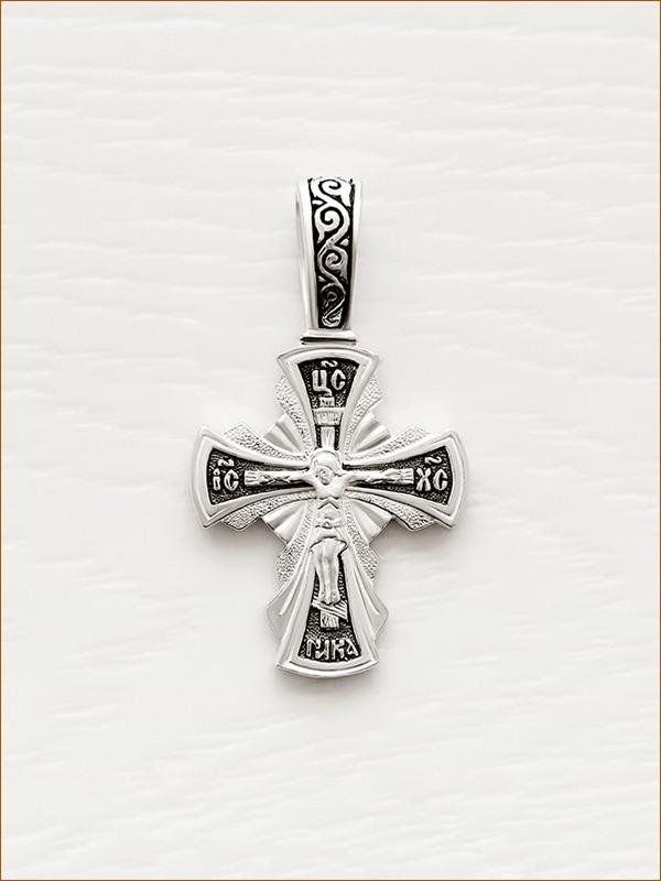 cеребряный крестик арт.03502