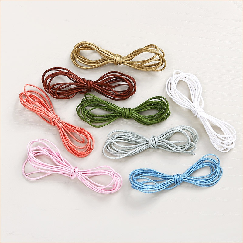цветные хлопковые веревочки для нательного детского крестика
