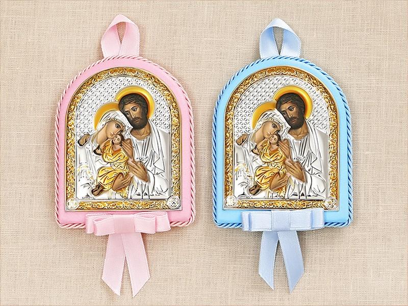 """детские иконы """"Святое семейство"""" для крестников"""