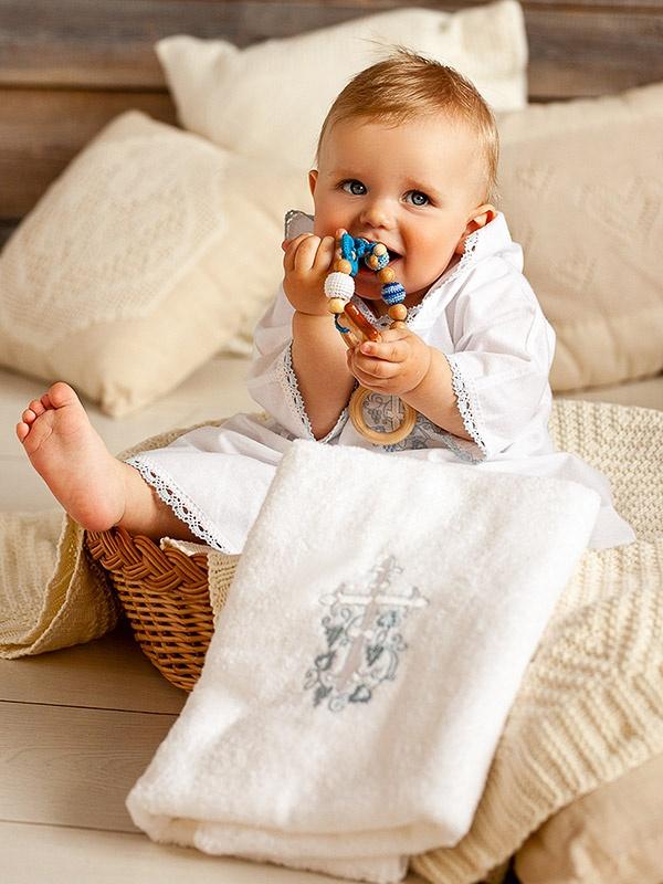 """Набор """"Голубой Лучик"""" с полотенцем"""
