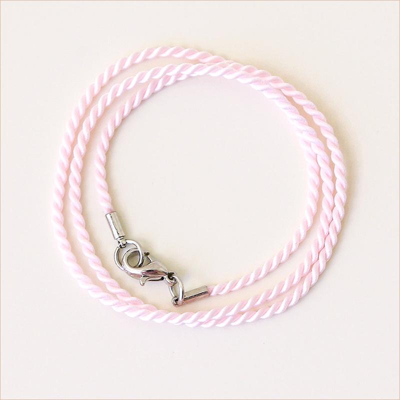 Гайтан шелковый П21 нежный розовый